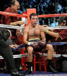 De La Hoya Pacquiao Boxing